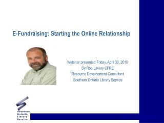 E-Fundraising: Starting the Online Relationship