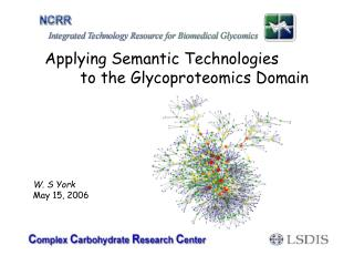 Applying Semantic Technologies  to the Glycoproteomics Domain