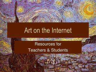 Art on the Internet