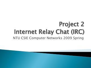 NTU CSIE Computer Networks 2009 Spring