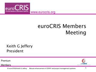 euroCRIS Members Meeting