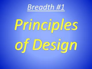 Breadth #1
