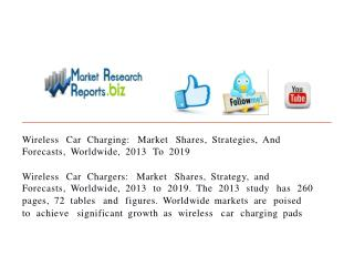 Wireless Car Charging: Market Shares, Strategies, And Foreca