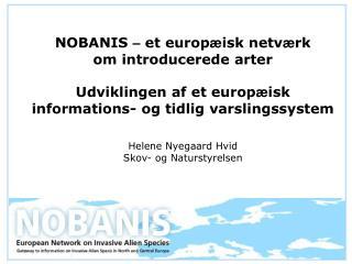 Hvad er NOBANIS?