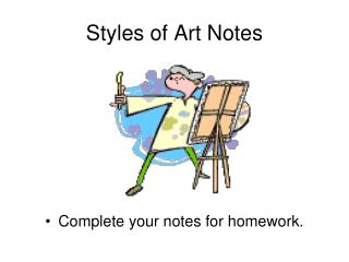 Styles of Art Notes