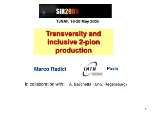 Transversity and inclusive 2-pion production
