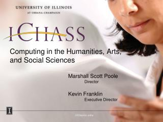 Computing in the Humanities, Arts, and Social Sciences