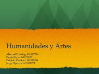 Humanidades y Artes