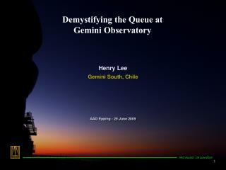 Demystifying the Queue at  Gemini Observatory