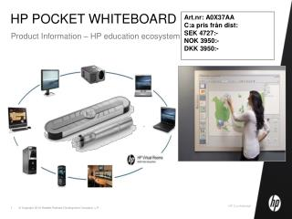 HP POCKET WHITEBOARD