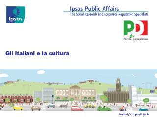 Gli italiani e la cultura