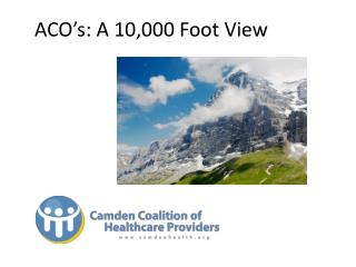 ACO � s: A 10,000 Foot View