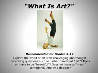 """What Is Art?"""