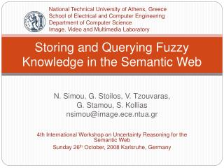 Storing and Querying Fuzzy Knowledge in the Semantic Web