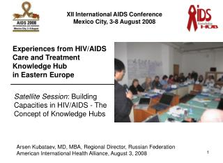 Arsen Kubataev, MD, MBA, Regional Director, Russian Federation