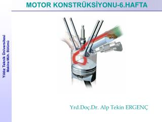 Yıldız Teknik Üniversitesi  Makina Müh. Bölümü