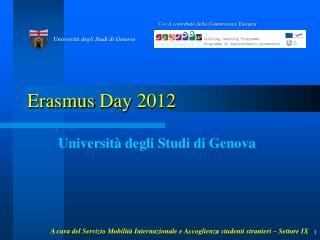 Erasmus Day  2012
