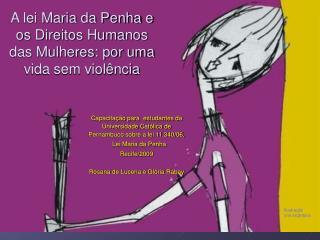 A lei Maria da Penha e os Direitos Humanos das Mulheres: por uma vida sem viol ncia