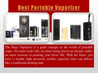 New Portable Vaporizer from Haze