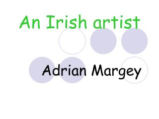 An Irish artist