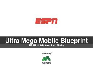 Ultra Mega Mobile Blueprint
