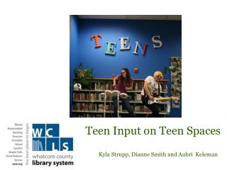 Teen  Input on Teen Spaces