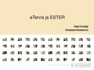 eTervis ja ESTER