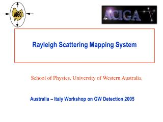 Rayleigh Scattering Mapping System