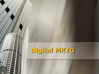 Digital MKTG