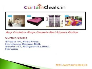 Buy Curtains Wallpaper Carpets Bed Sheet Online India
