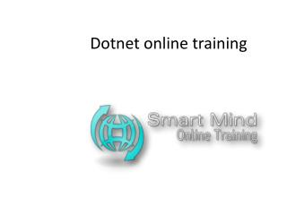 Dotnet online training