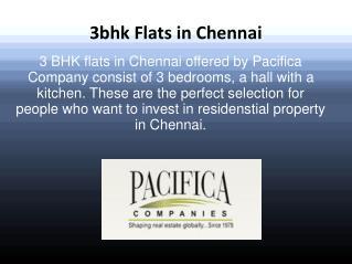 Buy 3bhk flats in chennai