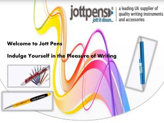 Corporate Promotional Jott Pens