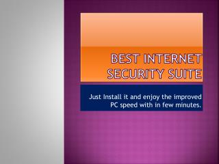Best Internet Security Suite By SystHeal