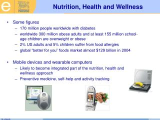 Nutrition, Health and Wellness