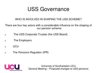 USS Governance