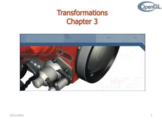 Transformations  Chapter 3