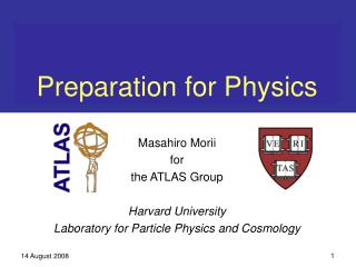 Preparation for Physics