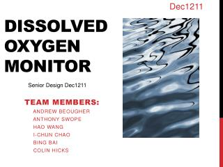 Dissolved  Oxygen  Monitor