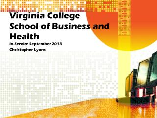 Virginia College School of Business and Health