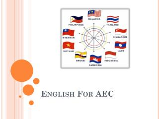 English For AEC