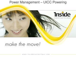 Power Management � UICC Powering