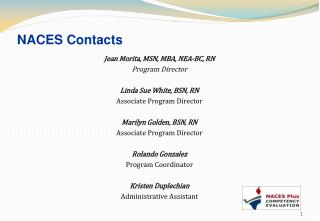 NACES Contacts