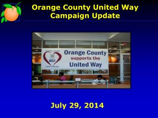 Orange  County United Way  Campaign Update