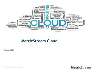 MetricStream Cloud