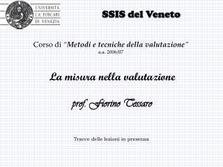 SSIS del Veneto