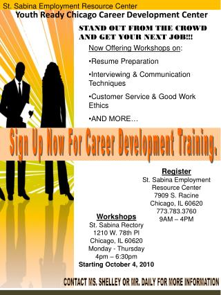 Youth Ready Chicago Career Development Center