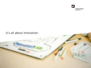 MEA konsulentuddannelse Modul 5 og 7 Ny Teknologi og nye innovationsformer