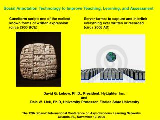 Social Annotation Technology to Improve Teaching, Learning, and Assessment