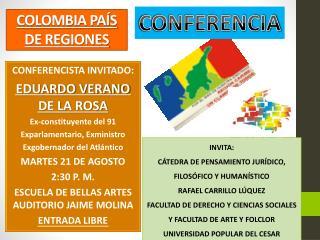 COLOMBIA PAÍS DE REGIONES